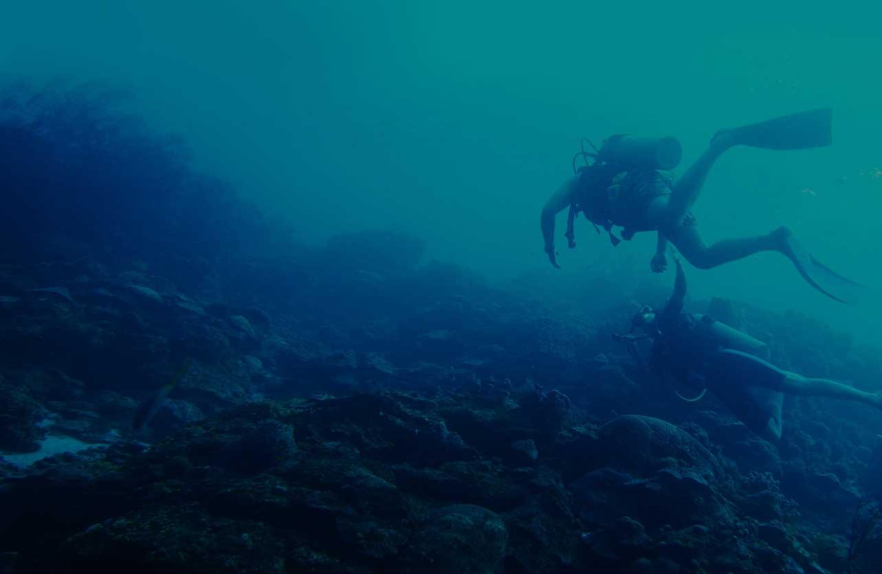 130ft depth of water